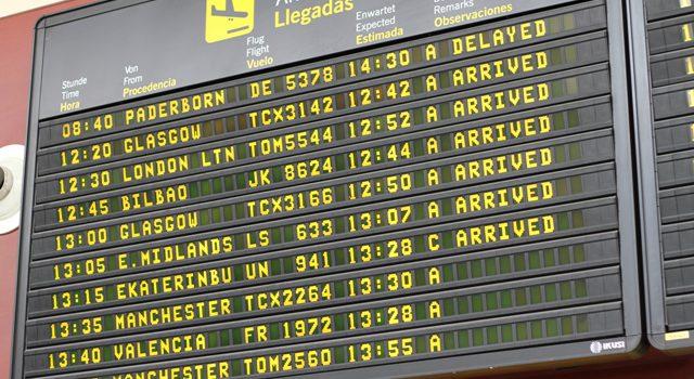 Tenerife recibe 4,8 millones de pasajeros en los siete primeros meses de 2019