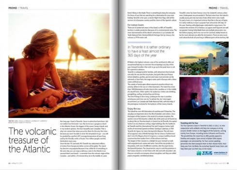 Tenerife, en la revista de a bordo de Air Baltic | el blog de ...
