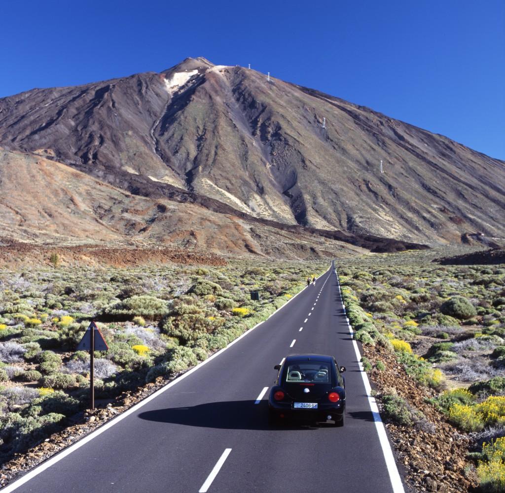 carretera Teide