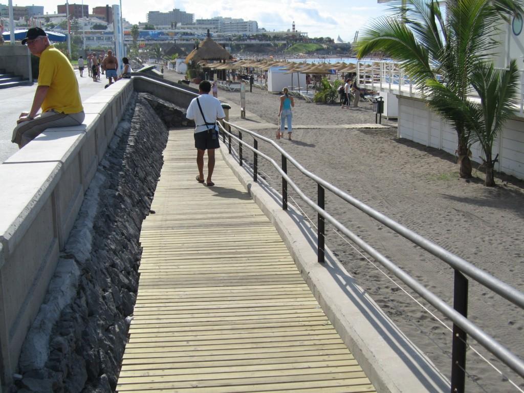 Adeje-Accesibilidad Playa Fañabé