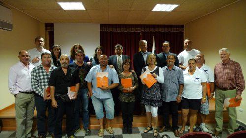 Empresarios del producto turístico de avistamiento de cetáceos ratifican la carta de calidad auspiciada por Turismo de Tenerife