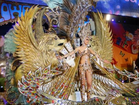 La Reina del Carnaval de Tenerife, a la conquista de París y Milán