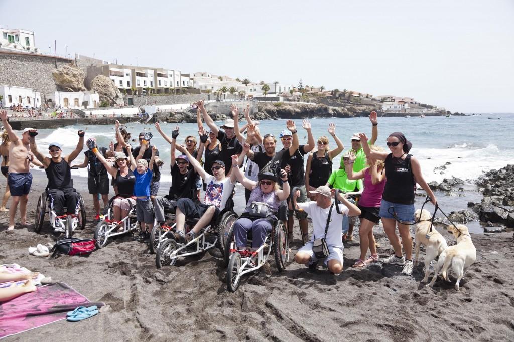 Tenerife, destino de aventura para personas con discapacidad