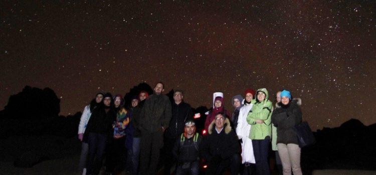 Una noche mágica en el Parque Nacional del Teide