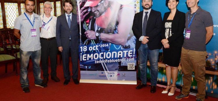 El Cabildo presenta la Tenerife Bluetrail 2014, la competición de montaña más alta de España