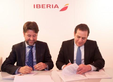 Convenio Iberia-Firma