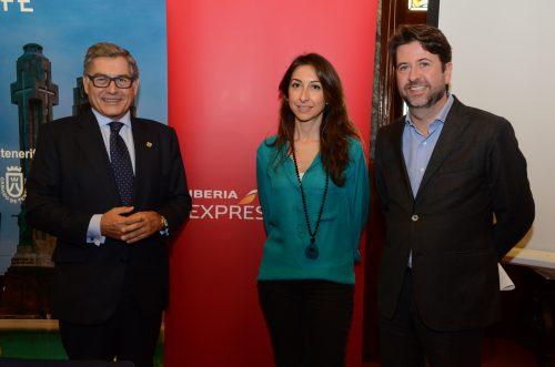 Tenerife refuerza su conectividad  con nuevas rutas operadas por Iberia Express