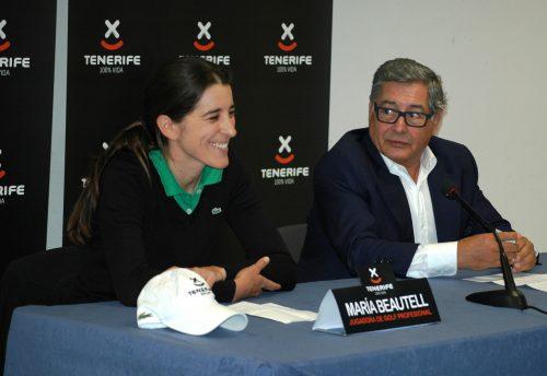 Turismo de Tenerife apoya a la golfista María Beautell