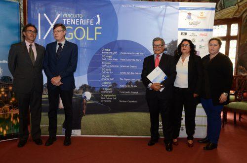 La IX edición del Circuito Tenerife Golf  arranca este fin de semana