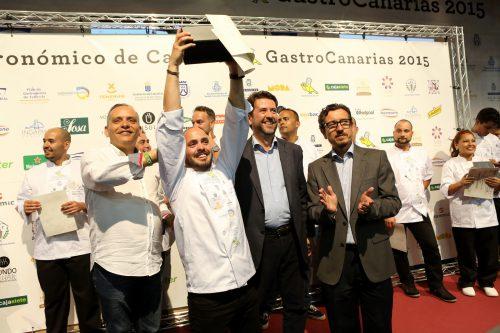 Víctor Suárez gana el Campeonato de Cocineros de Canarias
