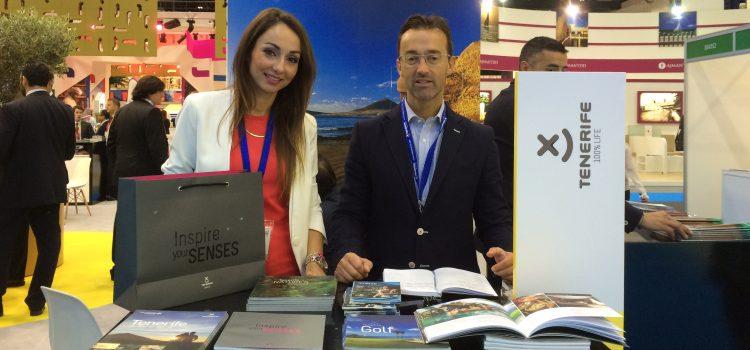 Tenerife muestra su oferta de lujo en la Arabian Travel Market de Dubái