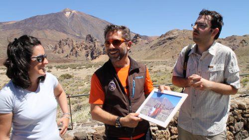 Arrasa en Internet 'Una fotito ahí', la última acción de Tenerife Buena Gente