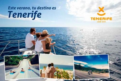 Tenerife anima a los canarios  a disfrutar de la Isla este verano