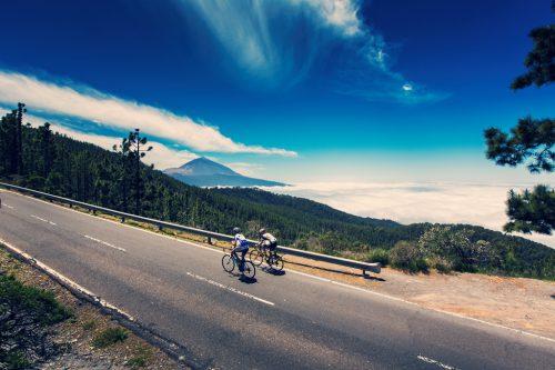 Tenerife se promociona en una etapa del Tour dirigida a aficionados