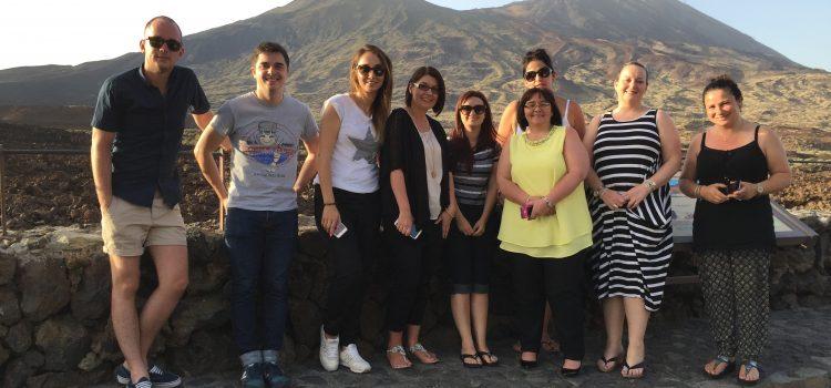 Agentes de viajes británicos conocen la oferta de Tenerife relacionada con el lujo y la celebración de bodas