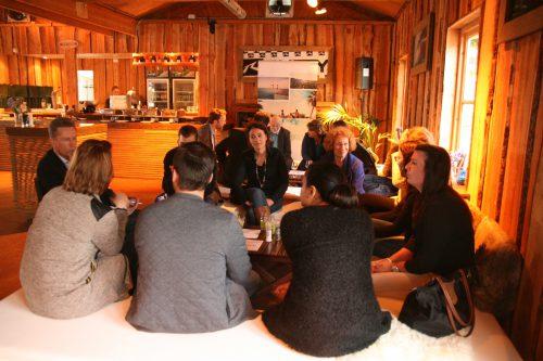 Instante de una de las sesiones de la Isla en Holanda.