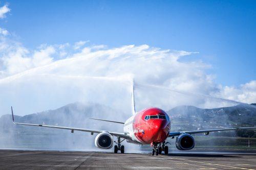 Inauguración vuelo de Norwgain Madrid & Tenerife Norte/Tony Cuadrado Freelancer