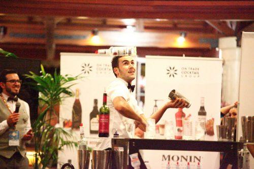 Juanjo Montes, de Tenerife, en la final de flair