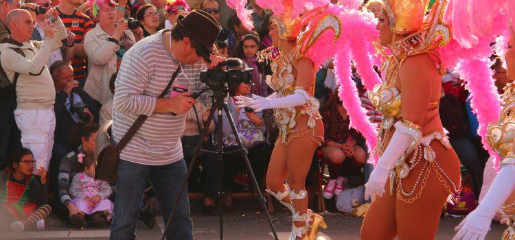 Periodistas nacionales e internacionales disfrutan del Carnaval de Tenerife