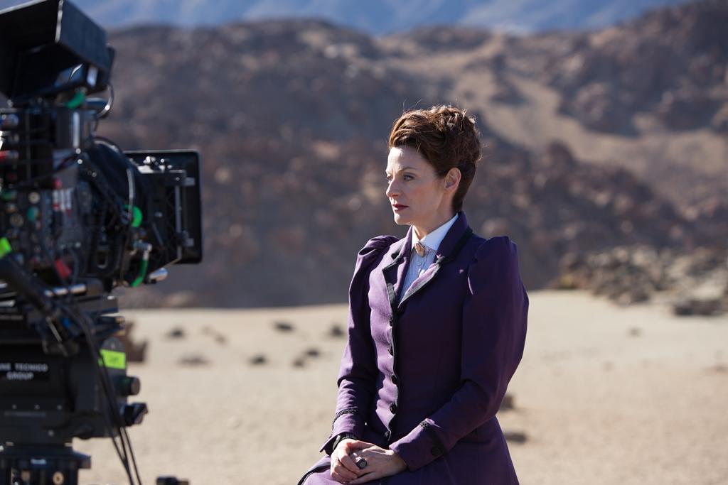"""© BBC – Rodaje de la serie británica """"Dr Who"""", servicios a la producción realizado por Sur Film Production & Services"""