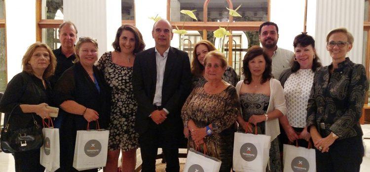 Tenerife recibe a una decena de  agentes de viajes de Estados Unidos