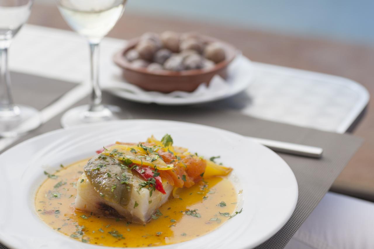 Un plato de pescado canario, uno de los ingredientes de las tapas que presentará Tenerife en La Haya y París.
