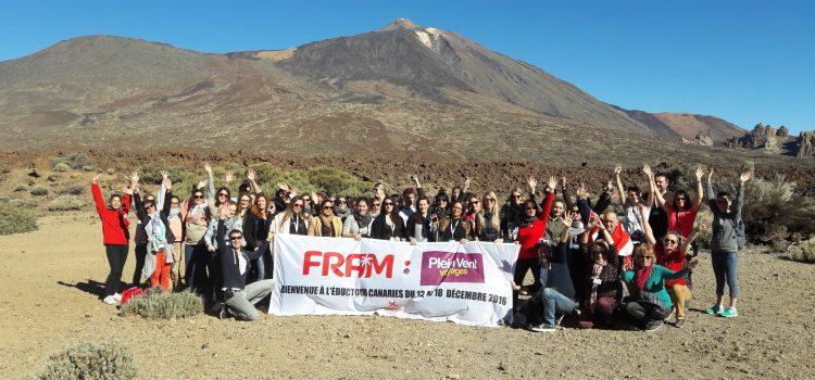 Agentes de viajes franceses del turoperador Fram conocen los atractivos turísticos de la Isla