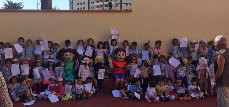 El Cabildo realiza una campaña  de sensibilización turística en colegios