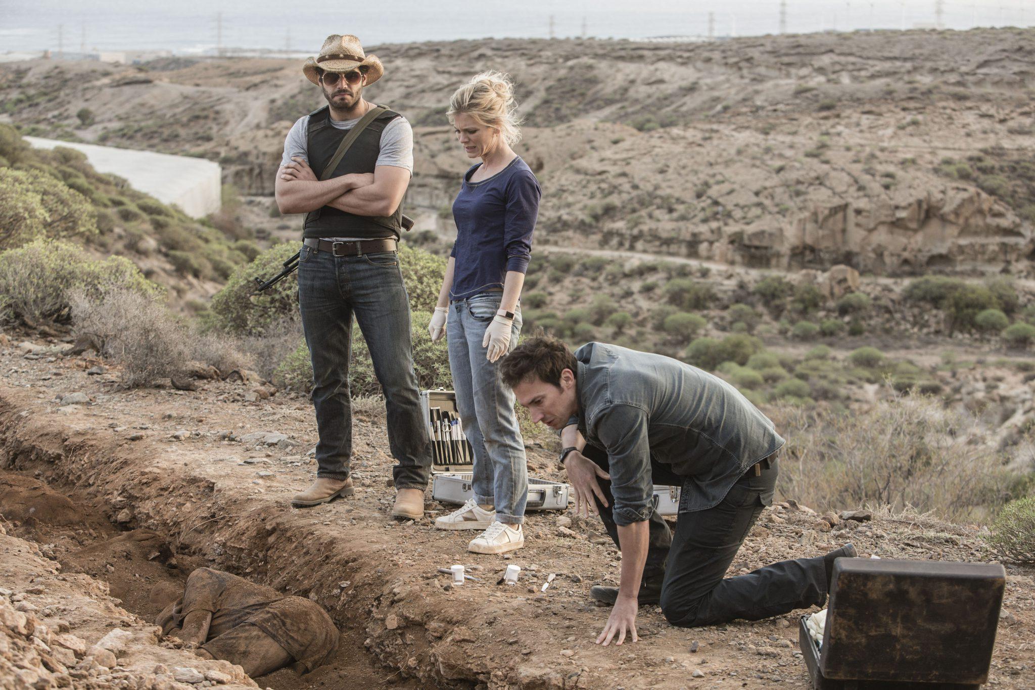 """Rodaje de """"Silent Witness"""" de la BBC, service de producción en Tenerife de Sur Film"""