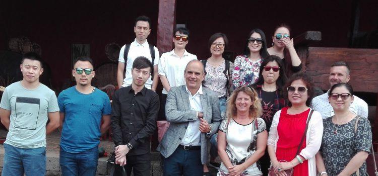 Una decena de agentes de viajes chinos conocen la oferta turística de Tenerife