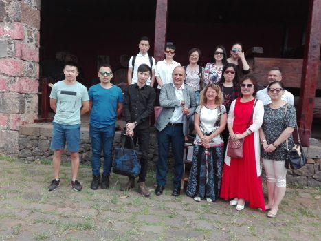 Resultado de imagen de Agentes de viajes japoneses visitan Icod