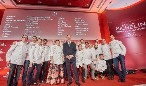 Las estrellas Michelin convierten a Tenerife en capital europea de la gastronomía