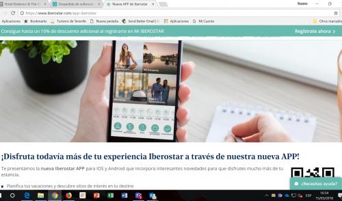 El grupo Iberostar lanza una App con enlaces a webtenerife.com