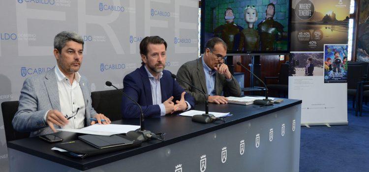Los rodajes en Tenerife dejan unos ingresos  de más de 9,6 millones de euros en 2017