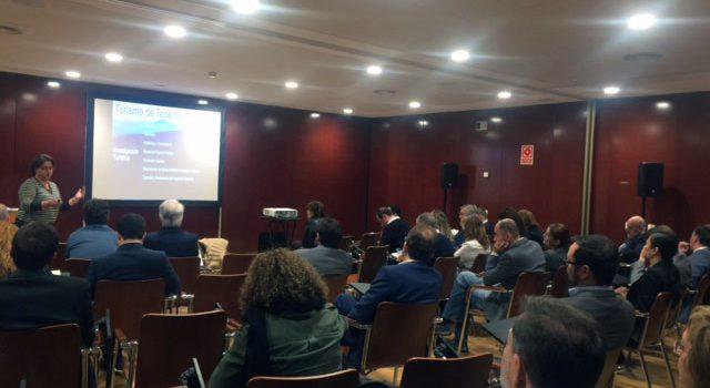 Sesión de Inteligencia  Turística para los asociados a Turismo de Tenerife