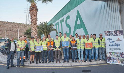 Los conductores de Titsa, comprometidos con #YosoyTenerife