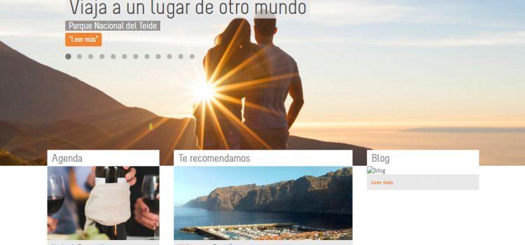 La página turística de Tenerife supera  la barrera de los cuatro millones de visitas anuales