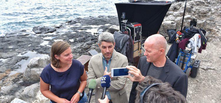 La cadena alemana ARD estrenará a final de mes la película 'Vacaciones con amigos', rodada en la Isla
