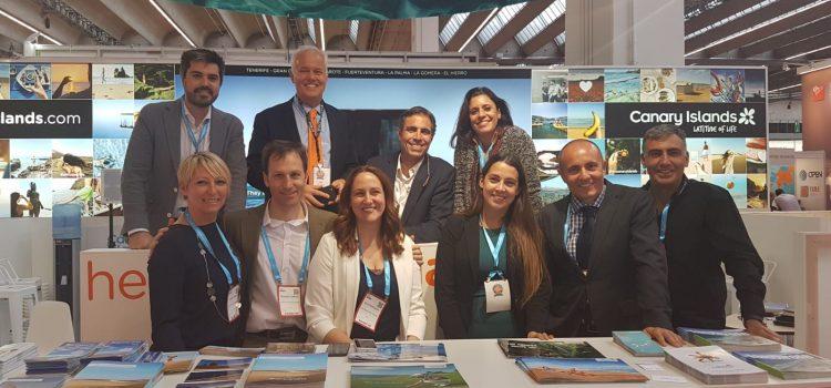La Isla se promociona como destino de congresos y eventos en la feria IMEX de Fráncfort