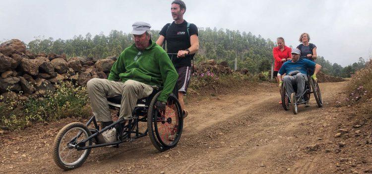 Turistas con discapacidad pasarán una semana practicando deportes de aventura en Tenerife