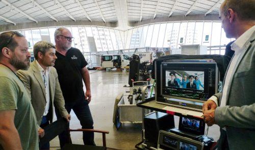 Tenerife acoge el rodaje de la producción rusa 'Some Like It Cold 2'