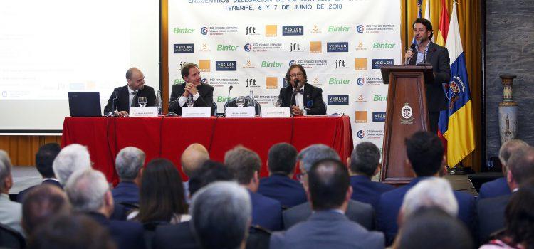 Tenerife acoge la jornada sobre retos del sector turístico organizada por la Cámara Franco-Española de Comercio