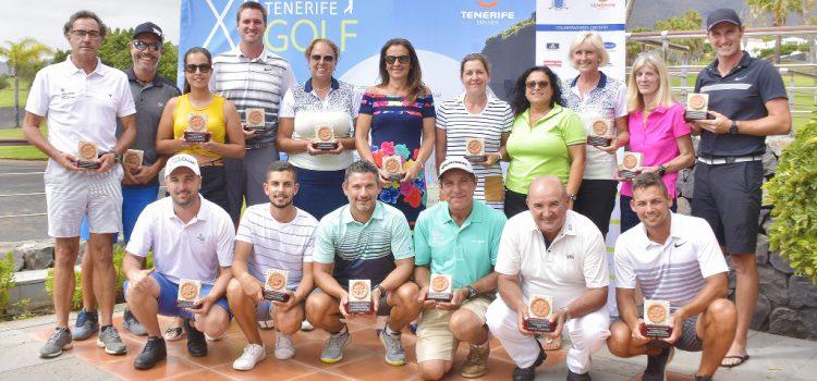 Finaliza la XII edición del Circuio Tenerife Golf