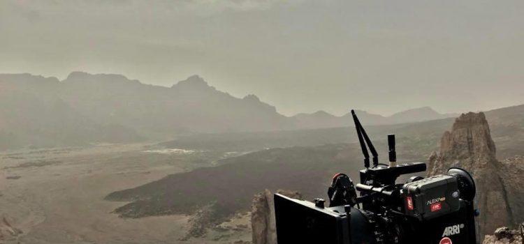 El rodaje de 'Wonder Woman' confirma las excelentes cualidades de Tenerife como plató