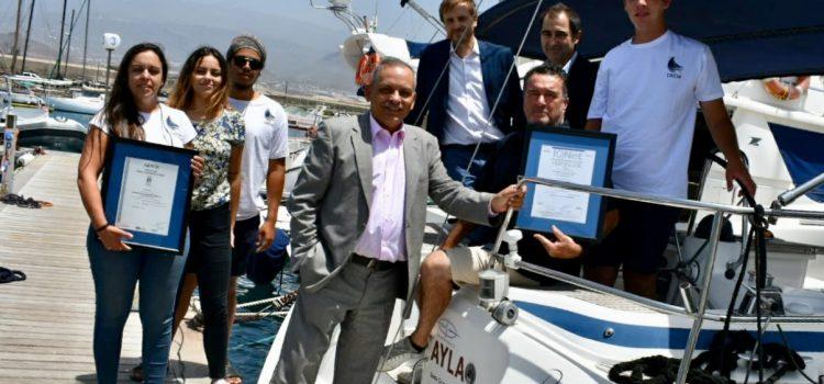 Picarus Sailing Club recibe el certificado de calidad de AENOR