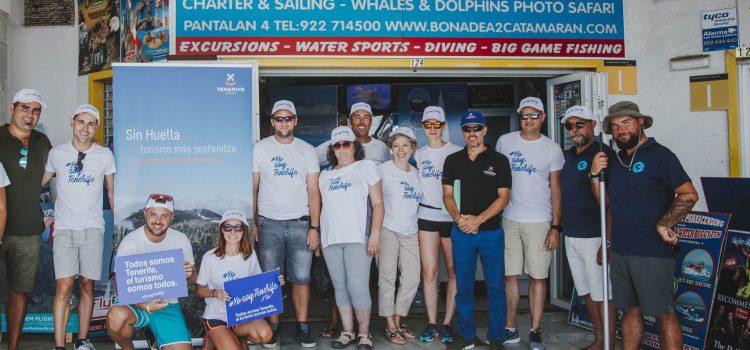 VIDEO: Turismo de Tenerife impulsa una acción de recogida de basura marina en Teno-Rasca