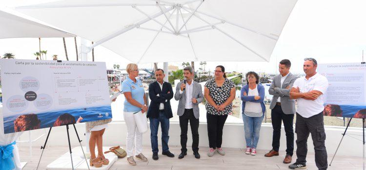 El Cabildo presenta la nueva 'Carta por  la Sostenibilidad' en el avistamiento de cetáceos