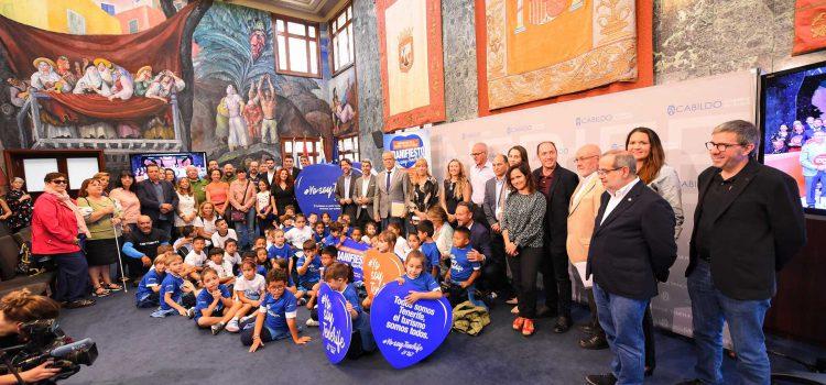 El Cabildo presenta la canción  y las nuevas acciones de #YosoyTenerife