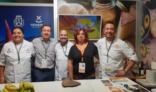 Tenerife fascina con sus chefs y productos en San Sebastián Gastronomika 2018