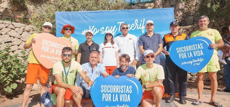 Los socorristas de la Isla se suman a la campaña #YosoyTenerife